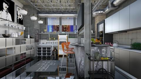 kitchen 2000 - Modern - Kitchen  - by Ida Dzanovic