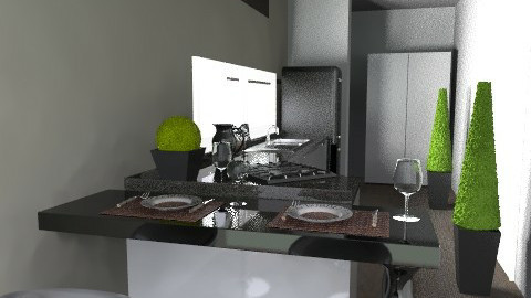 AGAVE NEwwww - Glamour - Kitchen  - by domuseinterior