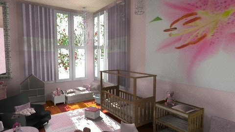 Baby Niece Nursery - Kids room  - by gertjanvanderwel