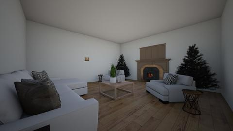 Cozy Christmas Cottage - Rustic - Living room - by moode4250