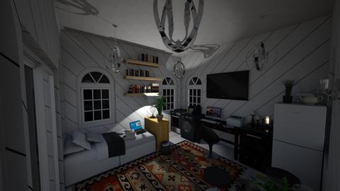 Cozy Home - Minimal - Living room  - by DaRealSingularPeoples