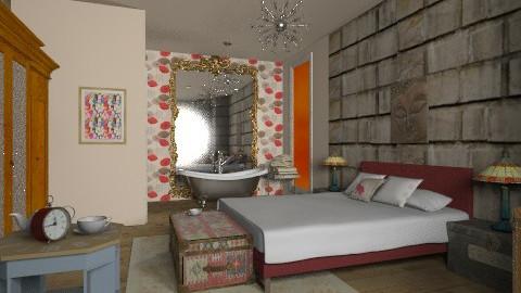 Mix - Eclectic - Bedroom  - by mrschicken