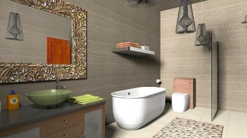 Modern Bathroom 2 - Retro - Bathroom  - by tillsa98