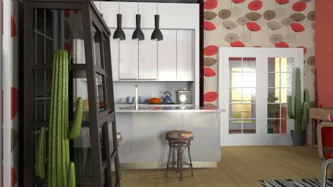 Kitchen - Eclectic - Kitchen  - by PomBom