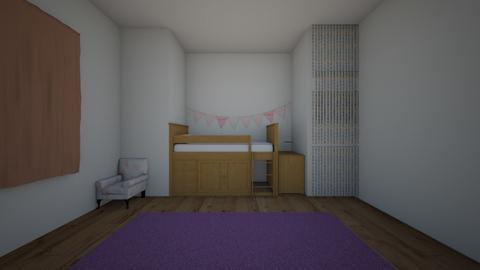 teen room - Kids room  - by goldenfang11