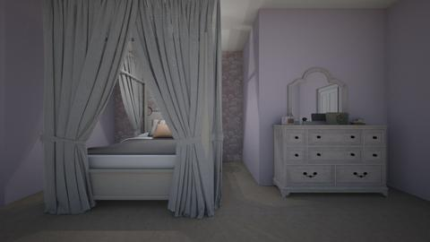 Heidi bedroom day - Glamour - Bedroom  - by Rihannalovesinterior