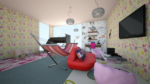 rich kids room - Glamour - Kids room  - by coolgirl1347