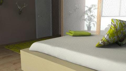 bedroom4 - Rustic - Bedroom  - by srbijanka