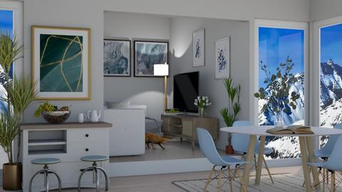 Scandinavian Dinning Room - Dining room  - by Maria Rachel