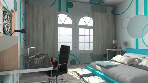teen room - Classic - Bedroom  - by tita