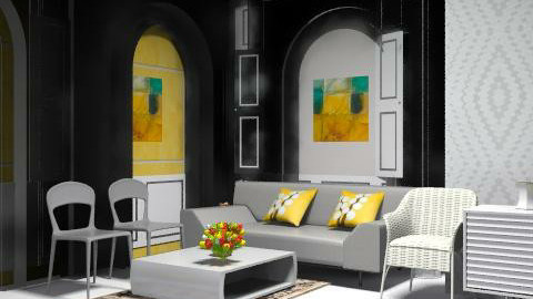yr - Classic - Living room  - by asifgoldpk