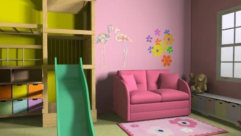 játszószoba/aktív rész - Classic - Kids room  - by Audrey17