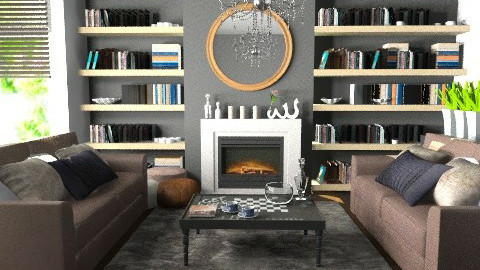 Living Area for Hellie13 - Eclectic - Living room  - by Carliam