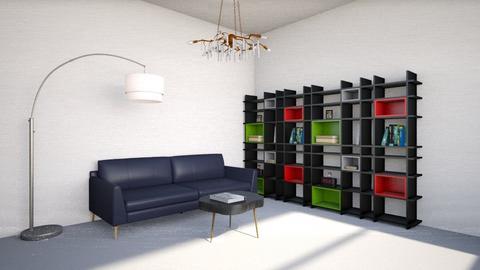 cozy livingroom - by jslyn