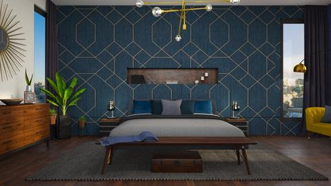 Mid Century Modern - Bedroom - by smunro7