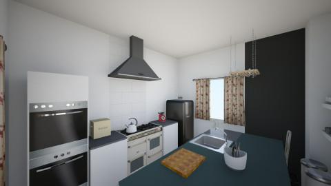 Kitchen_Lanaken1 - Retro - Kitchen  - by Olga Tyym