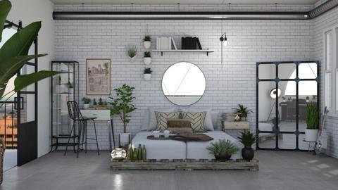 plants loft - Bedroom  - by Carolina_meee
