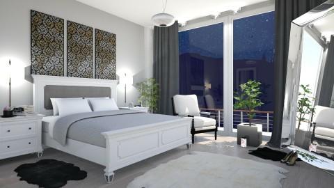 M_ Dark night - Classic - Bedroom  - by milyca8