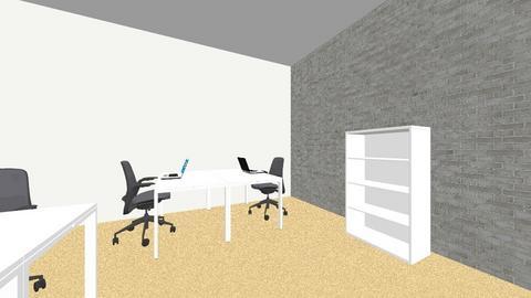office 8_06 - Modern - Office - by twagoo