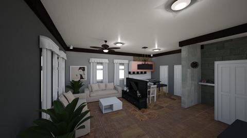 ApartmentLivingArea - by ana mechelle