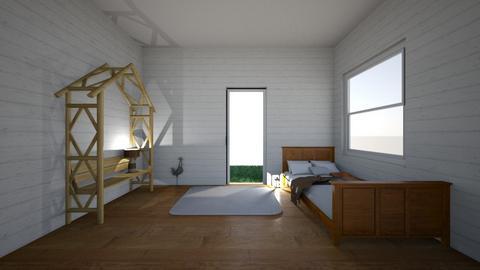 Rustic bedroom - Bedroom - by Pippies home