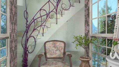 stair Railing - Classic - Hallway  - by milyca8