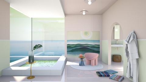 Pink calm - Bathroom - by chania