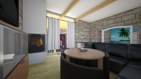 dk - Living room - by trollegamer