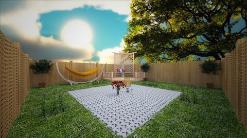 Picnic - Garden - by aesthathic_noor