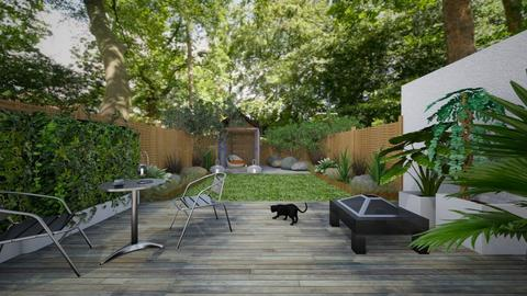 garden idea no 3 - Modern - Garden  - by kitty