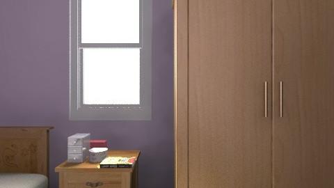 Quarto de Solteiro 2 - Modern - Bedroom - by PriscilaVitalino