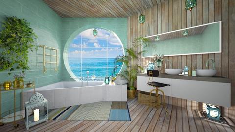 TQ Bathroom - Bathroom - by rungsimas
