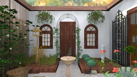 KitchenGarden - Country - Garden  - by PomBom