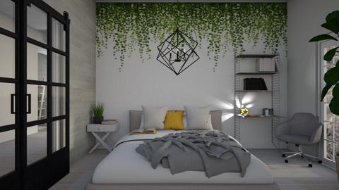 modern remix - Modern - Bedroom  - by madaline