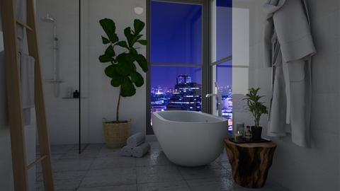 Freestanding bath - Bathroom  - by Thrud45
