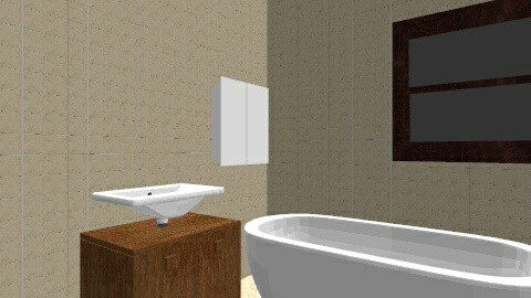 22 - Minimal - Bathroom  - by kevin1958