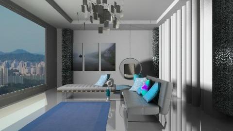 Blu - Minimal - Living room  - by norli99
