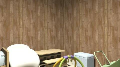 Dahn'te + Koda - Classic - Kids room  - by AngelMedlock