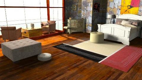 tasysc - Retro - Bedroom  - by ATELOIV87