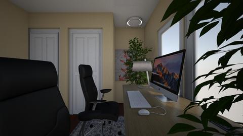 office x3 - Office  - by AspenTyler