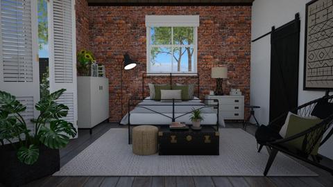 Different - Bedroom  - by Tuija