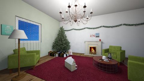 late xmas - Living room  - by lemon boi
