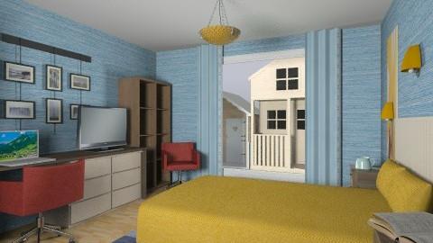 For De Tre Tosser 4 - Eclectic - Bedroom - by Theadora