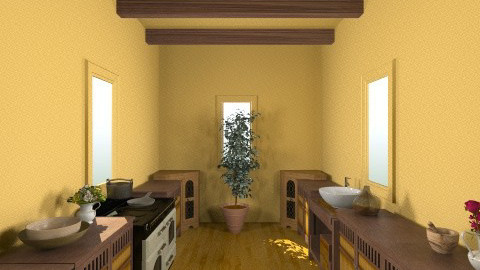 Pueblo - Rustic - Kitchen  - by HGranger2