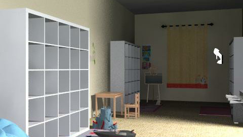 playroom - Classic - Kids room  - by lilyes