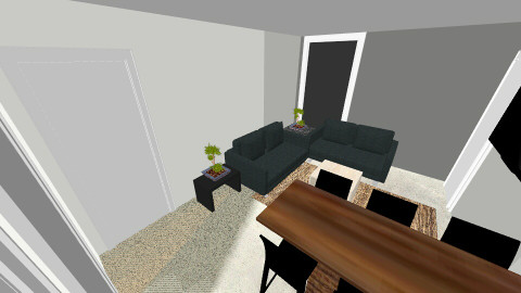 home home 3 - Minimal - Living room - by ASU ARQUITECTURA