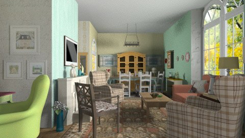 Grandmas House - Country - Garden  - by user_7618082