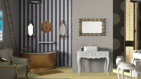 BoBo sdB - Eclectic - Bathroom  - by calu13