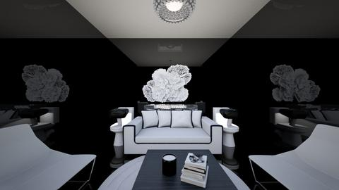Black and White glam - Living room  - by azoo