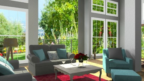 SORRENTO - Minimal - Living room  - by milyca8